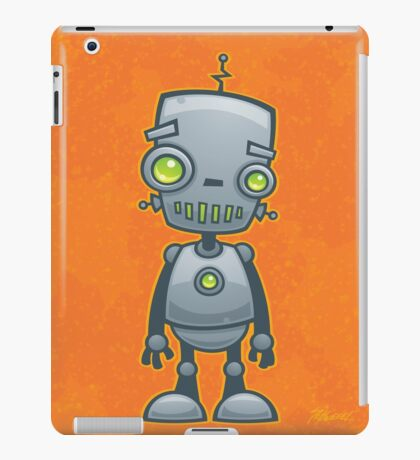 Silly Robot iPad Case/Skin
