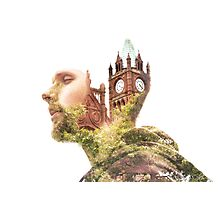 The Guildhall, Double Exposure Photographic Print