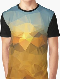 Dawn Painting - Crystallized Art Effect Graphic T-Shirt
