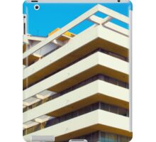 Apartment building and blue sky iPad Case/Skin