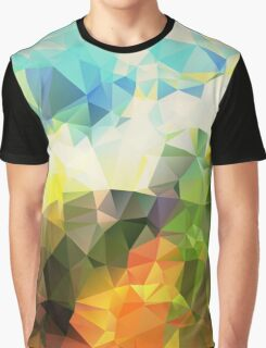 Andromeda - Crystallized Art Effect Graphic T-Shirt