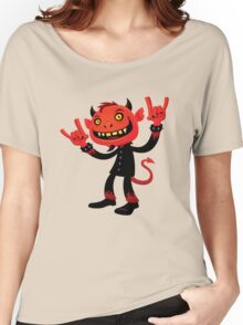 Heavy Metal Devil Women's Relaxed Fit T-Shirt