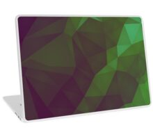 Green Night Lights - Crystallized Art Effect Laptop Skin