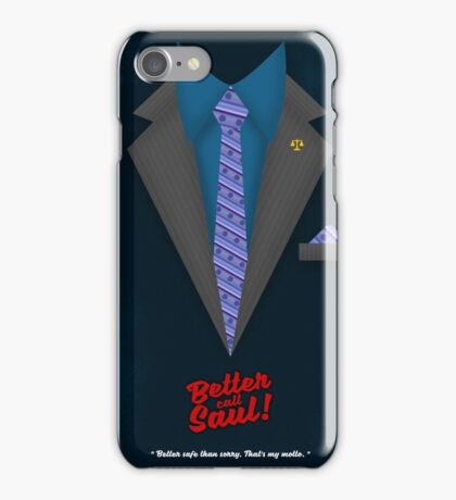 Better Call Saul - Suit No. #4 iPhone Case/Skin