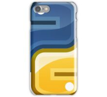 Best Python Logo Royal Blue and Gold Edition iPhone Case/Skin
