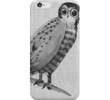 Whooooo? iPhone Case/Skin