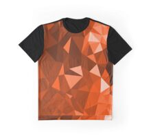 Orange Cave - Crystallized Art Effect Graphic T-Shirt
