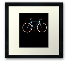 Bike t shirt Framed Print