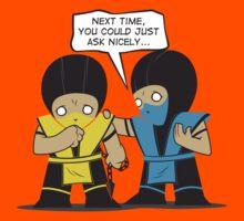 Subby vs. Scorpion Kids Tee