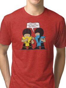 Subby vs. Scorpion Tri-blend T-Shirt