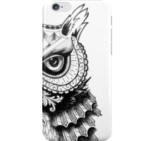 All seeing owl iPhone Case/Skin