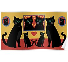 CATS AND FAMILY PICTURES Poster