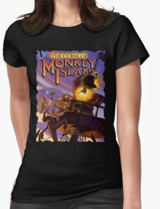 Monkey Island 3 Womens Fitted T-Shirt