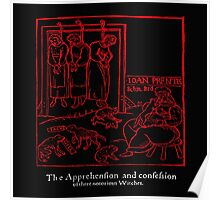 APPREHENSION OF A WITCH Poster