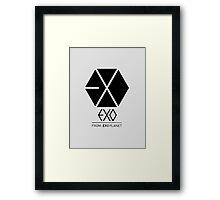 EXO 1 Framed Print