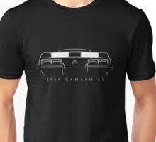 1968 Chevy Camaro SS rear - Stencil Unisex T-Shirt