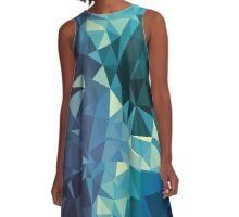 Ice - Crystallized Art Effect A-Line Dress