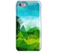 Countryside Green Fields - Crystallized Art Effect iPhone Case/Skin