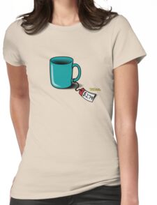 Flight of the Conchords: Cup! Womens Fitted T-Shirt