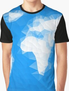 World Map - Crystallized Art Effect Graphic T-Shirt