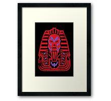 Pharaoh of Magnets Framed Print