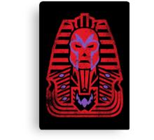 Pharaoh of Magnets Canvas Print