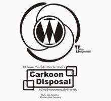 Carkoon Disposal (black) T-Shirt