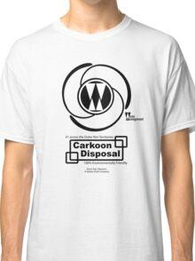 Carkoon Disposal (black) Classic T-Shirt