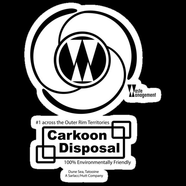 Carkoon Disposal (black) by maclac
