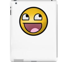 Best Awesome Face High Resolution iPad Case/Skin
