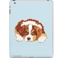 Red Tri Australian Shepherd Puppy iPad Case/Skin