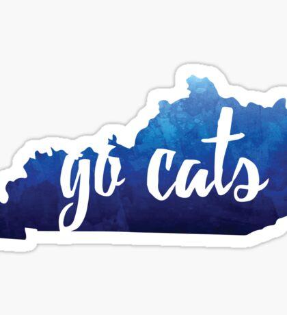 GO CATS! Sticker