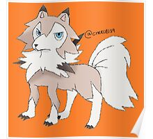 Lycanroc Midday Form Poster