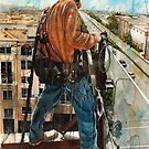 American Iron Worker by Louisa McHugh