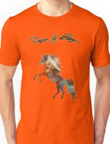Magic Space Unicorn Dictionary Art Unisex T-Shirt