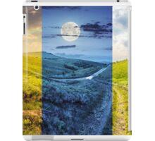 path through highland meadows iPad Case/Skin
