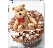 Christmas Teddy Bear Cupcake iPad Case/Skin