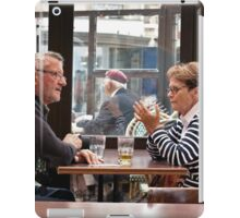 Philosophical Discussion Over a Beer in a Pub iPad Case/Skin