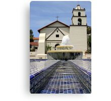 Mission Water Canvas Print