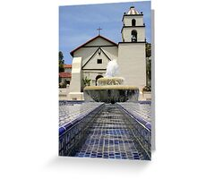 Mission Water Greeting Card