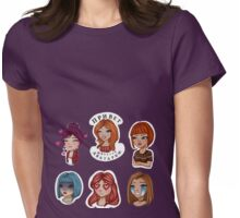 girls Womens Fitted T-Shirt