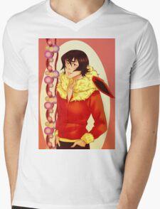 Keith Flareon Mens V-Neck T-Shirt