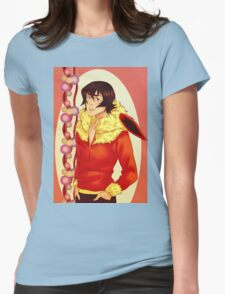 Keith Flareon Womens Fitted T-Shirt