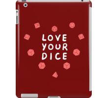Love Your Dice iPad Case/Skin