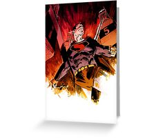 Superman vs. The Mechanical Monsters Greeting Card