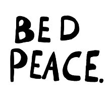 Bed Peace Photographic Print