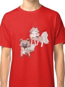 Rockruff and Lycanroc Midday Form Classic T-Shirt