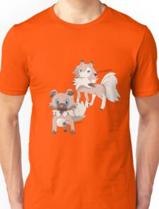 Rockruff and Lycanroc Midday Form Unisex T-Shirt