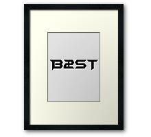 B2ST/BEAST Framed Print