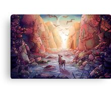 The Narrows Canvas Print